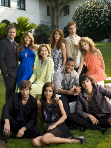 The cast of the new 90210