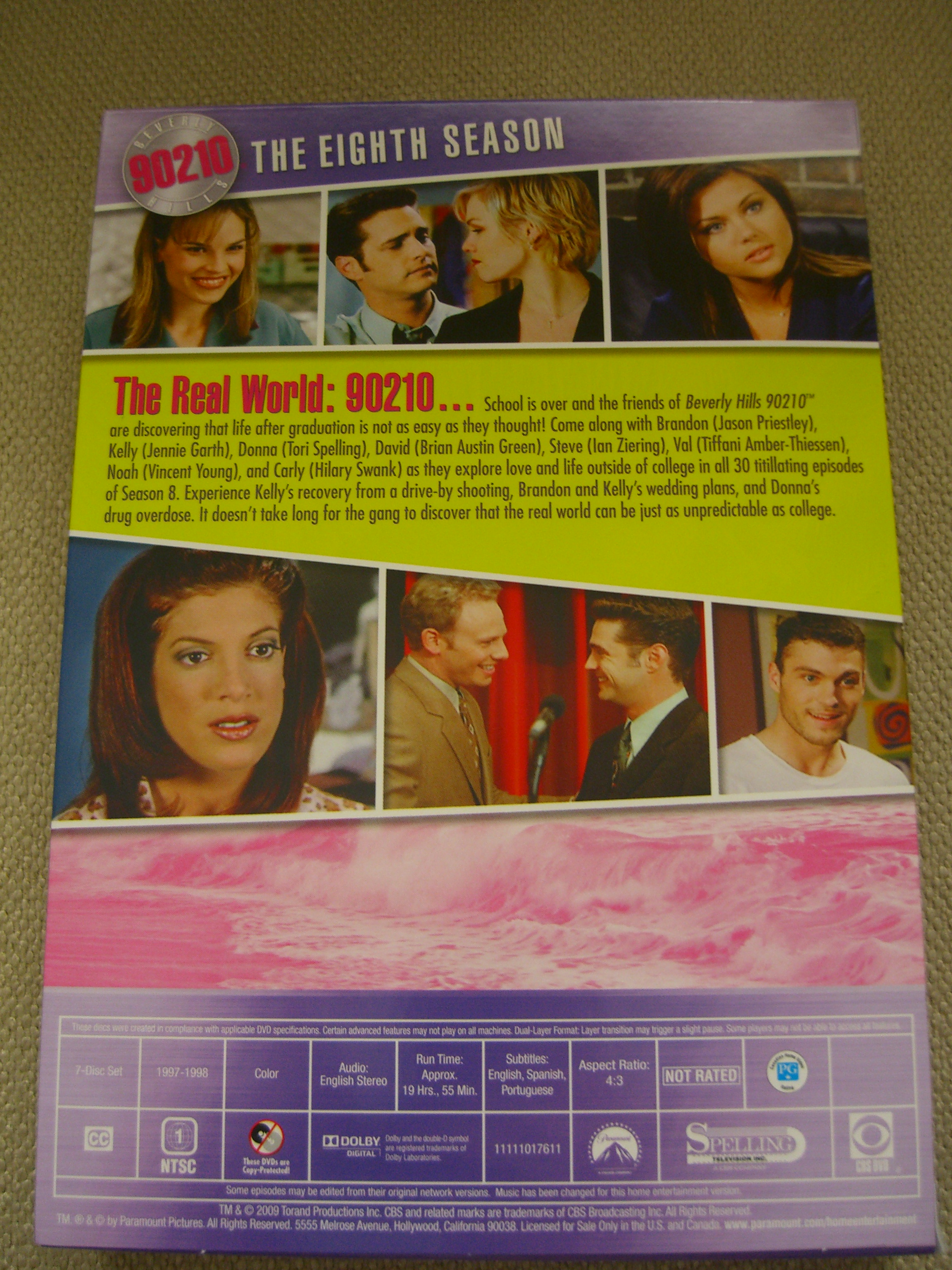 beverly hills 90210 season 8 dvd available today