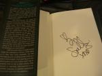 Tori Spelling's Autograph